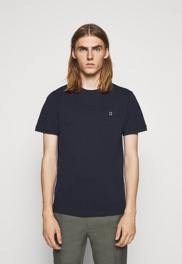 T-shirt basique - dark navy/white