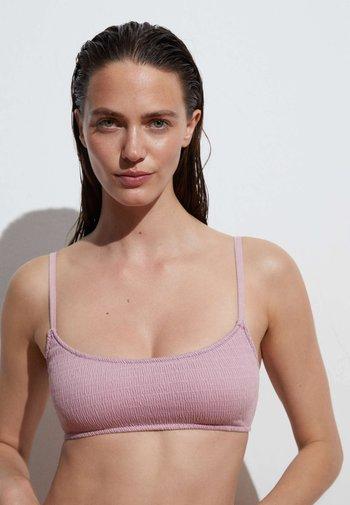 Bikini top - mauve