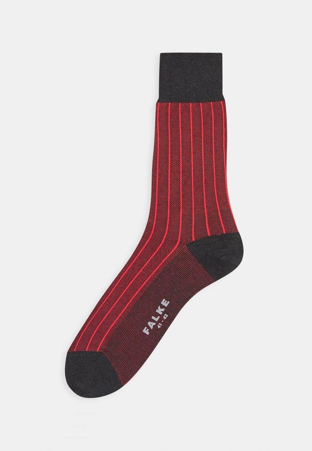 OXFORD - Socks - anthracite melange