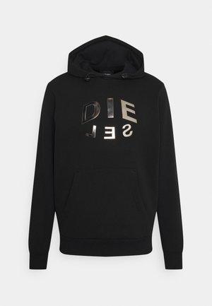 S-GIRKEL HOOD FELPA UNISEX - Sweatshirt - black