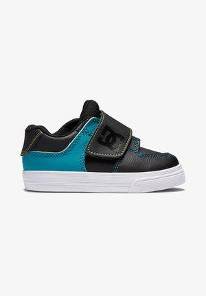 PURE V - Sneakers laag - black/green/orange