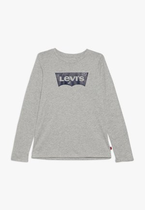 BATWING TEE - Longsleeve - light grey heather