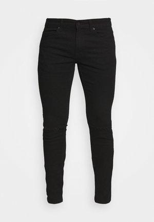 ONSWARP LIFE KNEE CUT - Jeans Skinny - black denim
