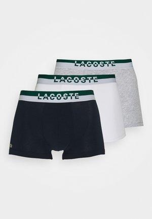 Boxerky - marine/blanc/argent chine/swing