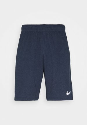 DRY FIT - Pantalón corto de deporte - obsidian heather/white