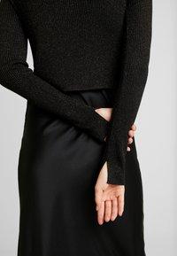 AllSaints - KOWLO SHINE DRESS - Hverdagskjoler - black - 7