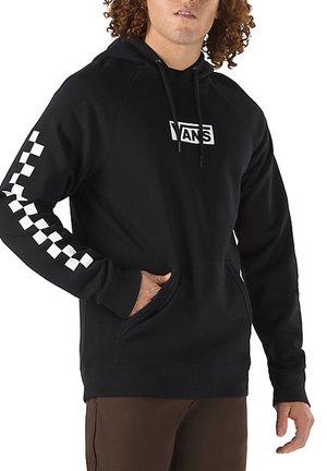 MN VERSA STANDARD - Sweat à capuche - black/checkerboard