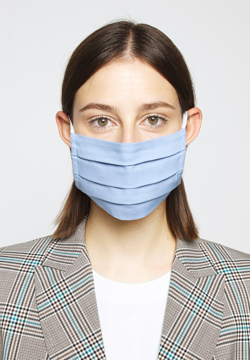Zign - 3 PACK - Stoffmaske - blue/taupe/turquoise