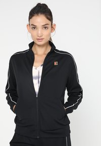Nike Performance - WARM UP JACKET - Sportovní bunda - black/white - 0