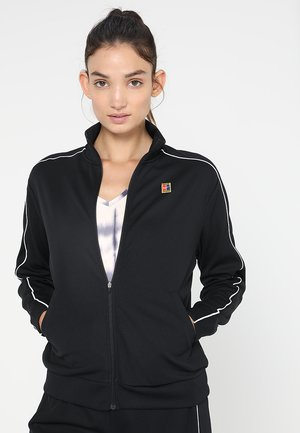 WARM UP JACKET - Kurtka sportowa - black/white