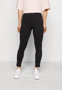 Object Petite - Leggings - Trousers - black - 0