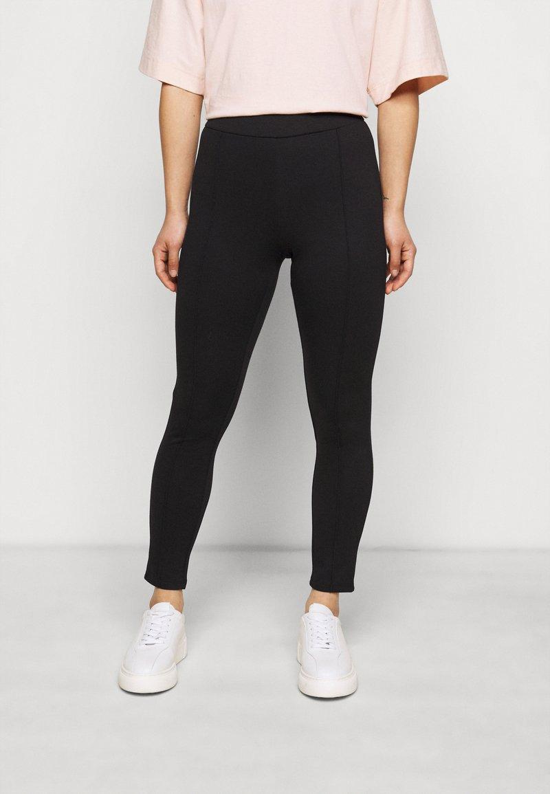 Object Petite - Leggings - Trousers - black