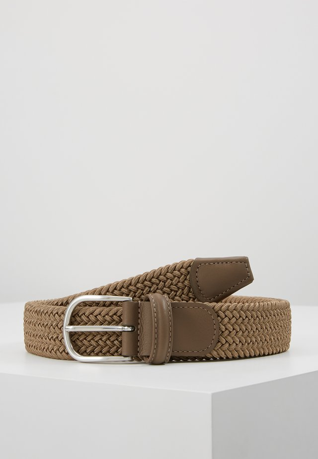 BELT - Braided belt - khaki