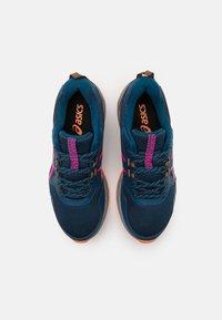 ASICS - GEL-VENTURE 8 - Trail running shoes - mako blue/pink glow - 3