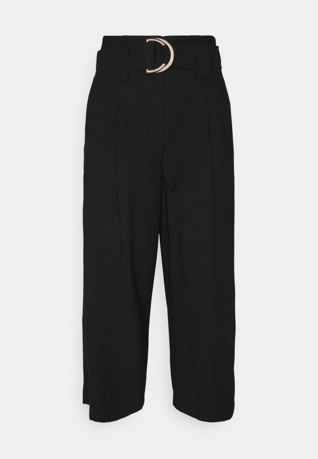 VMORLA CULOTTE PANTS - Trousers - black