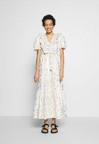Résumé - TENDORA DRESS - Maxi dress - white - 0