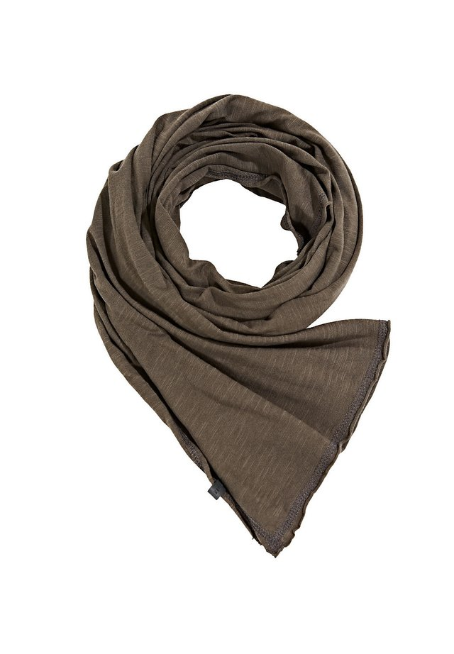 MIT EARTHCOLORS®-FÄRBUNG - Scarf - khaki green