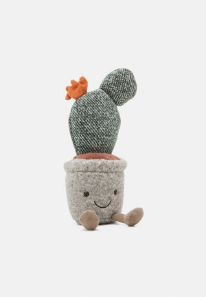 SILLY SUCCULENT PRICKLY PEAR CACTUS UNISEX - Cuddly toy - green/grey