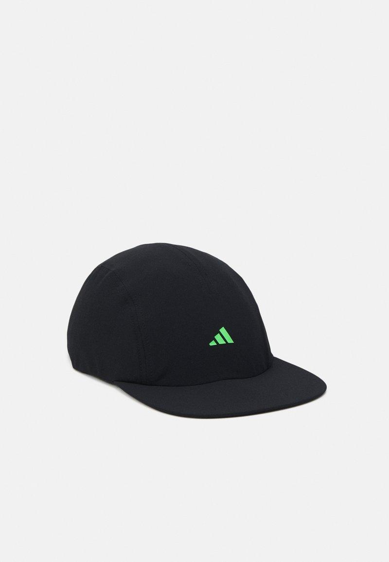 adidas Performance - UNISEX - Cap - black/screaming green