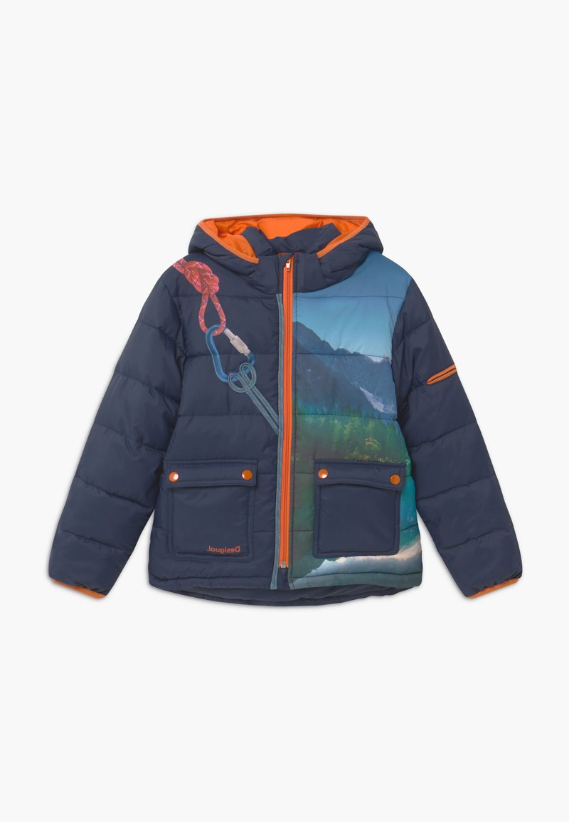 Desigual - CHAQ MOUNTAIN - Winter jacket - blue