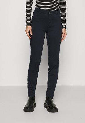 POWER SKINNY - Trousers - bleu marine