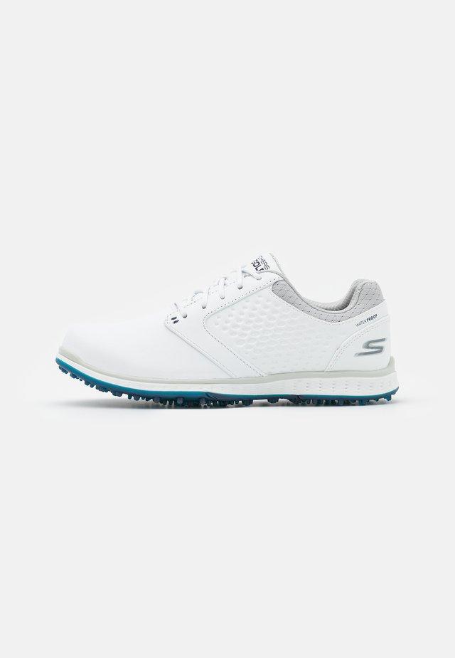 ELITE 3 - Golf shoes - white/navy