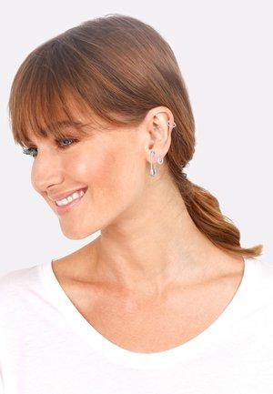 4 PACK DESIGN - Earrings - silver-coloured
