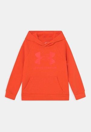 RIVAL HOODIE - Felpa con cappuccio - orange