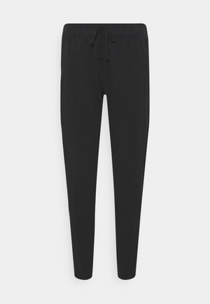 WARM PANT RUNWAY - Tracksuit bottoms - black/reflective silver