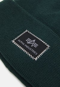 Alpha Industries - X-FIT BEANIE - Pipo - navy green - 2