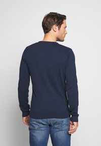 Pier One - 2PACK - Strickpullover - dark blue - 3