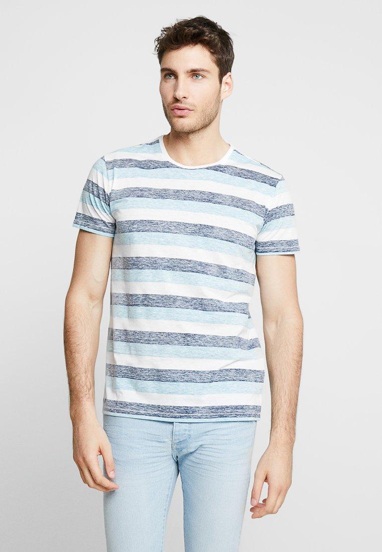 Solid - TJANOS - Print T-shirt - air blue
