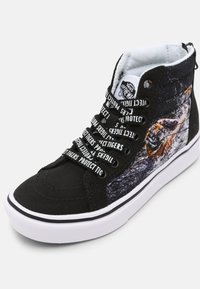 Vans - UY COMFYCUSH SK8-HI ZIP - Sneakers hoog - black - 6