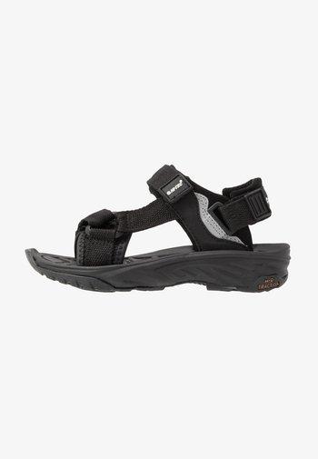 ULA RAFT JR - Chodecké sandály - black