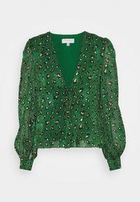 Never Fully Dressed - GREEN LEOPARD ADA - Bluser - green - 0