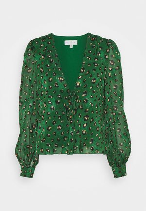 GREEN LEOPARD ADA - Blouse - green