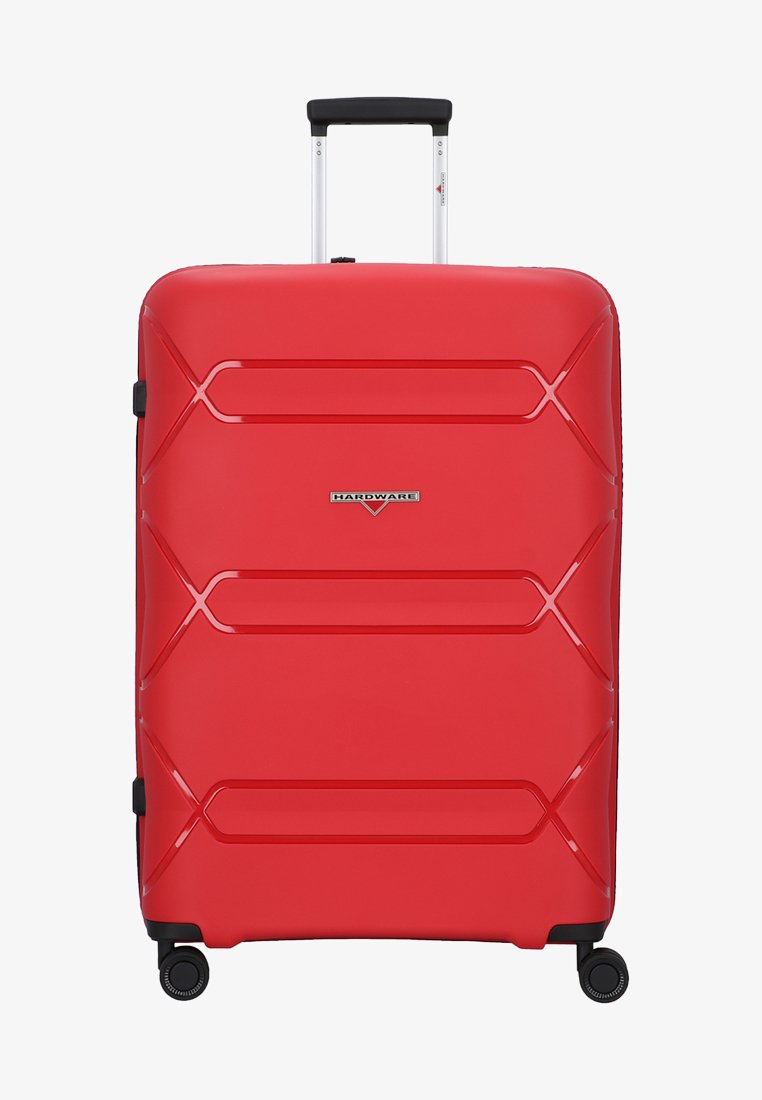 Hardware - TOKYO - Wheeled suitcase - red