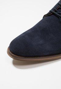 Zign - Smart lace-ups - dark blue - 5