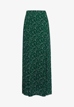 Maxi skirt - aop - leaf eden green