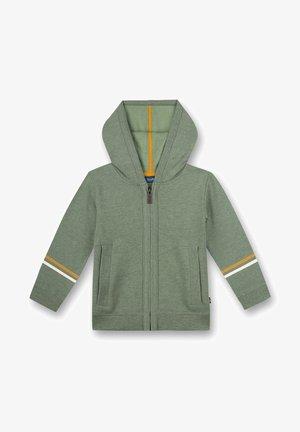 Zip-up sweatshirt - grün