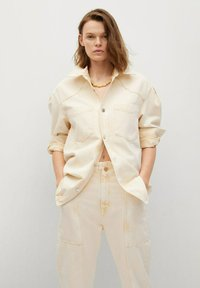 Mango - Button-down blouse - pastelgeel - 0