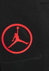 Jordan - PANT - Tracksuit bottoms - black/chile red - 2