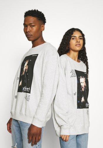 CREWNECK UNISEX - Sweatshirt - light grey melange