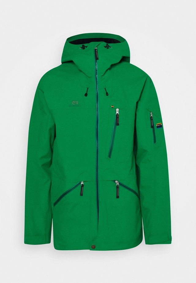 MENS BACKSIDE JACKET - Skijakker - green