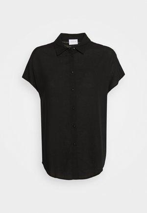 VILALINA CAMP - Skjortebluser - black