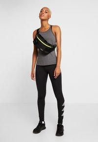 adidas Performance - PERF - Tekninen urheilupaita - black melange - 1