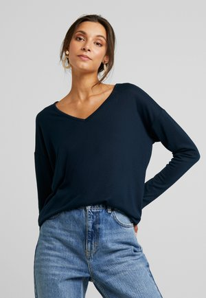 KASIANE V NECK  - Strickpullover - midnight marine
