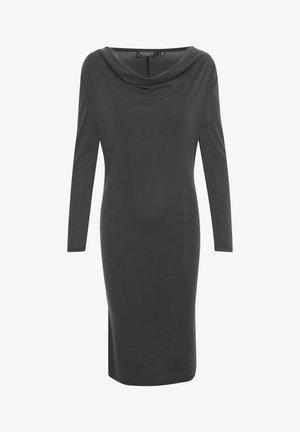 SLCODY WATERFALL  - Jersey dress - black