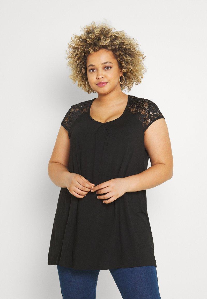 Anna Field Curvy - Print T-shirt - black