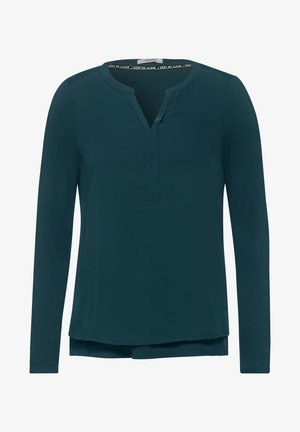 Blouse - atlantic green